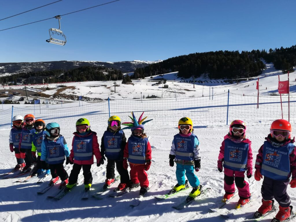grups esqui la molina escola esqui descens RACC