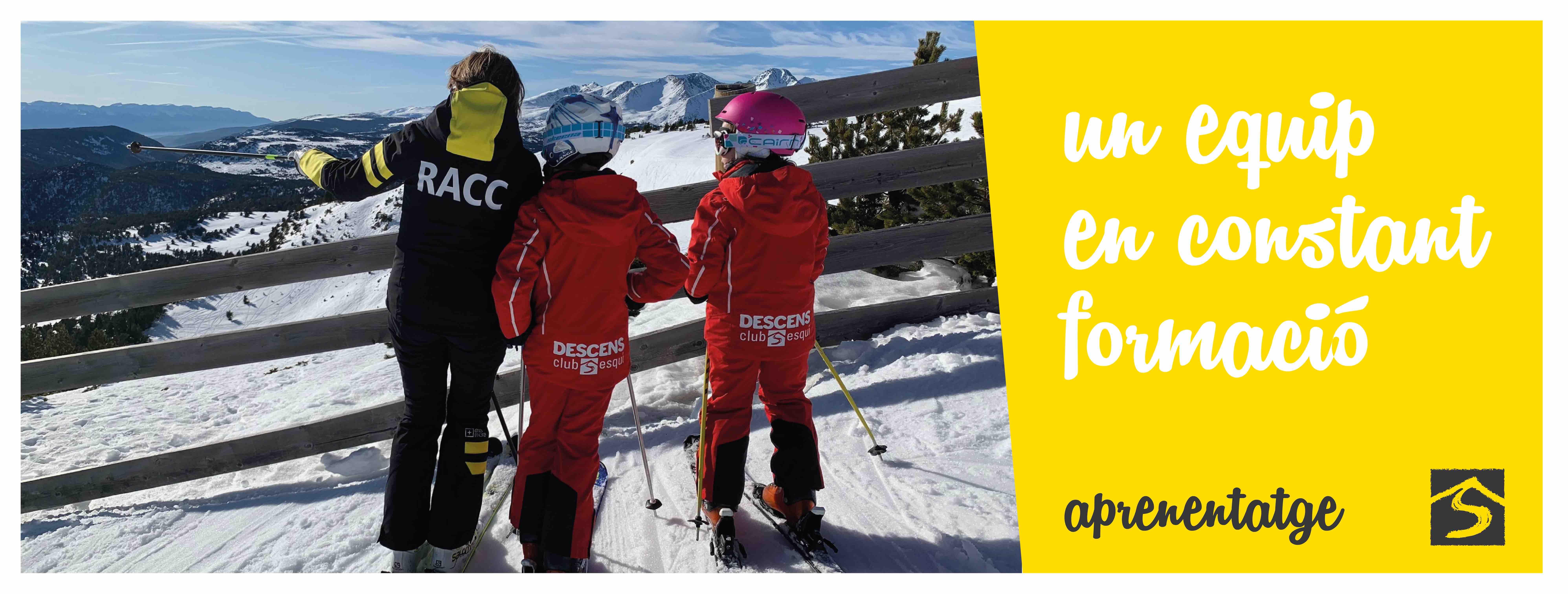 escola esqui descens